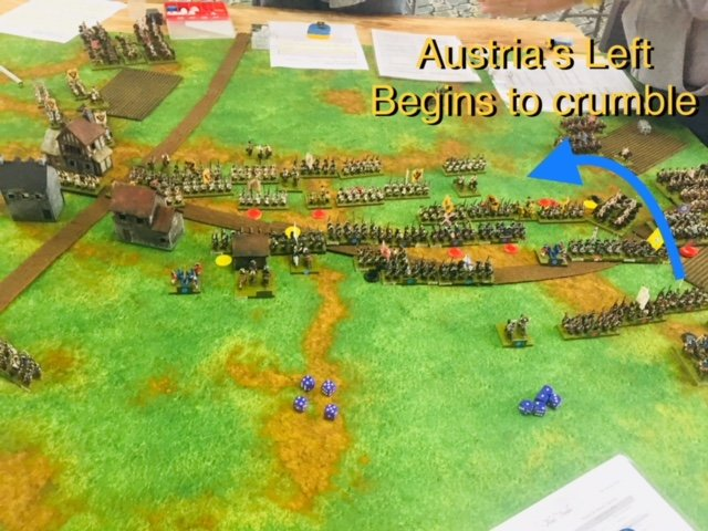 Prussians Start to Oblique Right