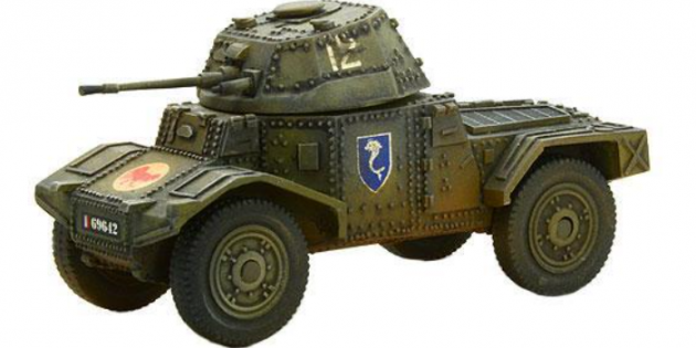 Panhard 178 Conversion for the Eastern Front